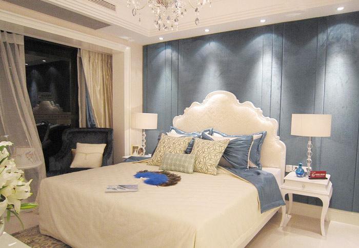欧式风格小清新床头软包装修图片图片