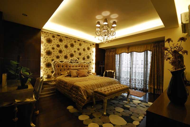 欧式风格别墅奢华卧室装潢