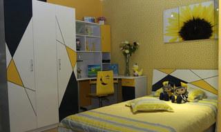 简约风格简洁儿童床图片