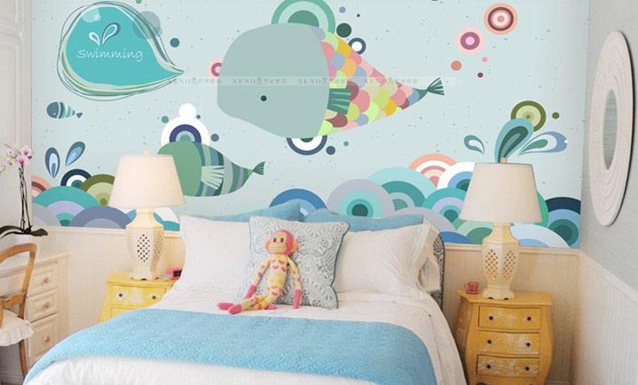 欧式风格小清新儿童床图片