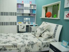 给孩子最好的空间 18款简约儿童床图片