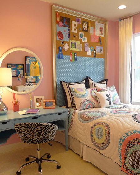 美式风格温馨儿童床图片