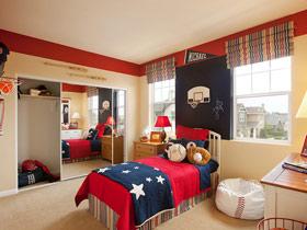温馨儿童房设计 21款美式儿童床效果图