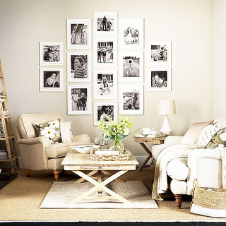简约风格简洁照片墙设计
