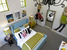 16款卧室背景墙设计 让卧室更完美