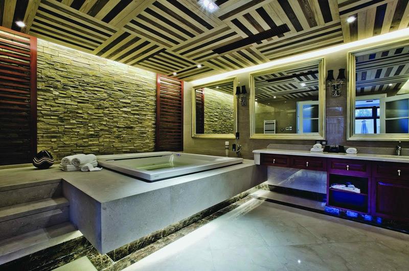 美式风格别墅奢华卫生间效果图