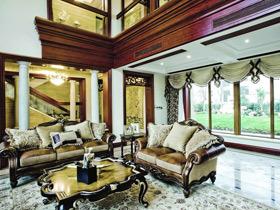 奢华法式新古典别墅装修 雍容华贵的设计