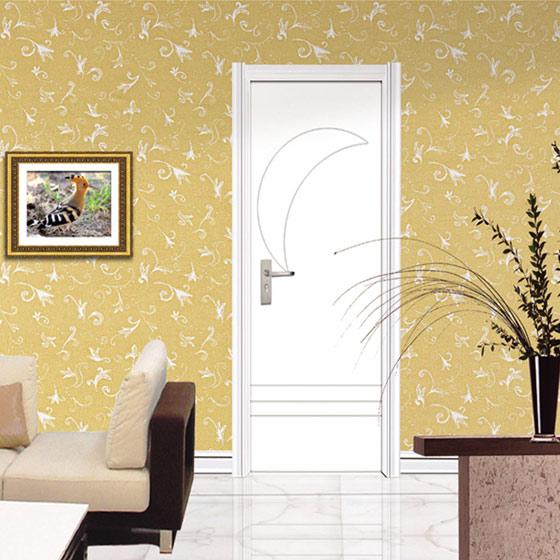 白色室内木门图片