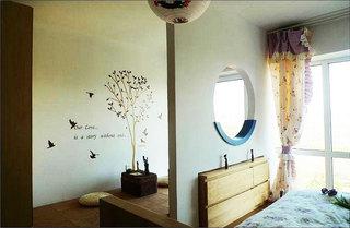 地中海风格卧室隔断隔断装修效果图