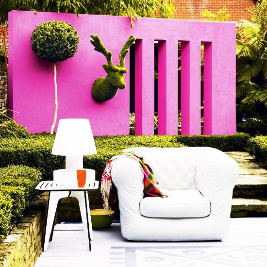 简洁花园沙发效果图