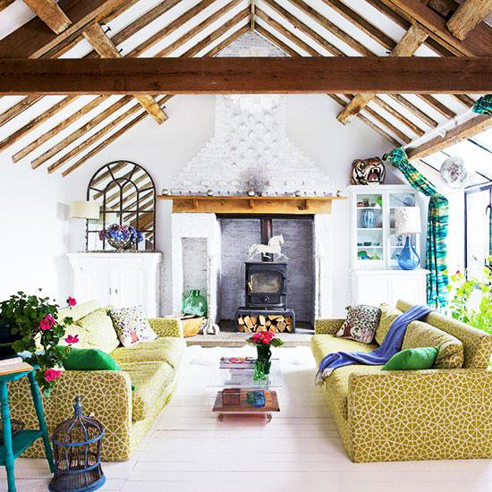 黄色客厅沙发沙发图片