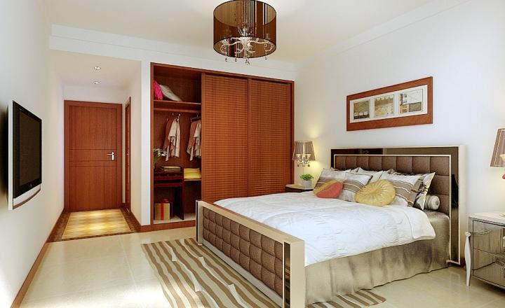 中式风格舒适衣柜安装图
