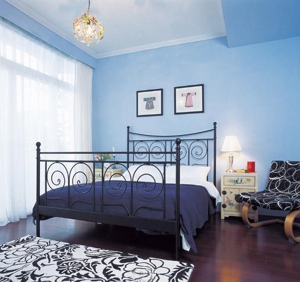 地中海风格浪漫床头柜图片