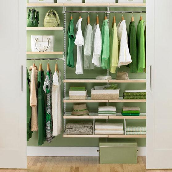 宜家风格实用衣柜设计图
