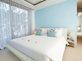 舒适软包设计 17款白色床头软包
