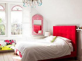 热情与舒适的碰撞 15款红色床头软包设计