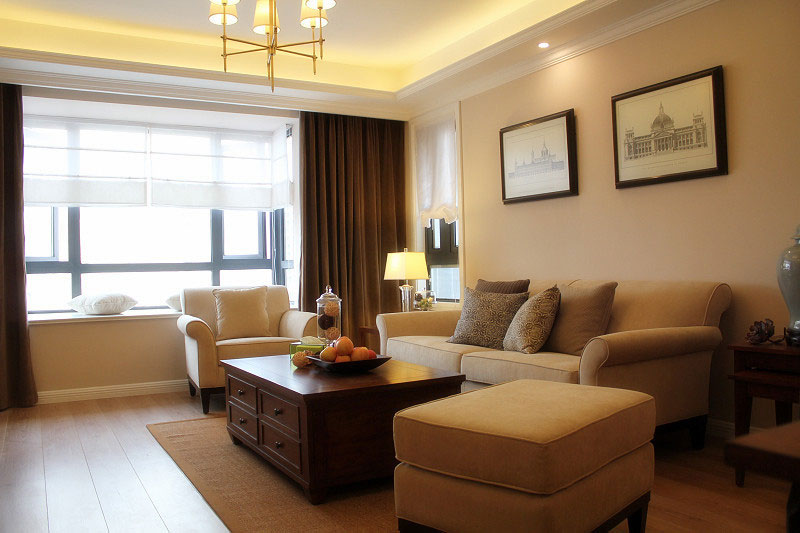 简约风格三居室时尚客厅沙发沙发效果图