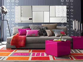 个性化客厅设计 19张特色沙发背景墙图片
