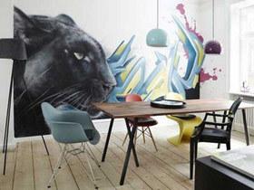 享受用餐之旅 16款餐厅手绘墙效果图