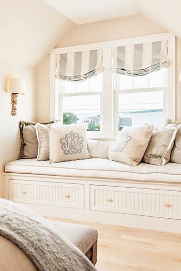 条纹卧室窗帘窗帘图片