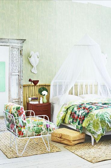 绿色卧室壁纸壁纸效果图