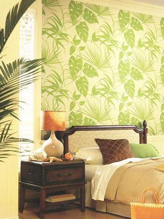 绿色卧室壁纸壁纸图片