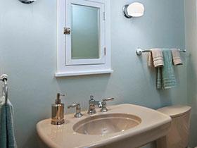 19张彩色洗手台设计图 清新自然