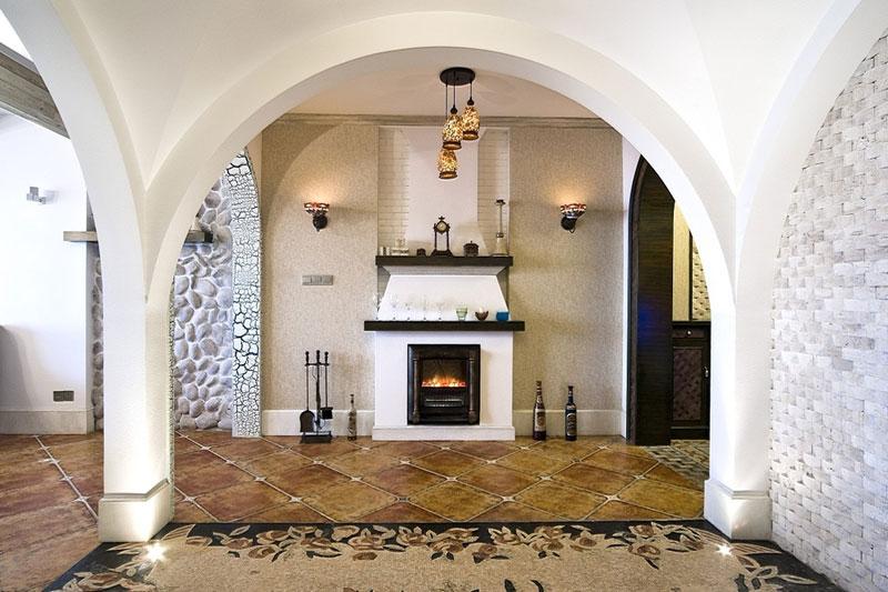 地中海风格三居室100平米设计图