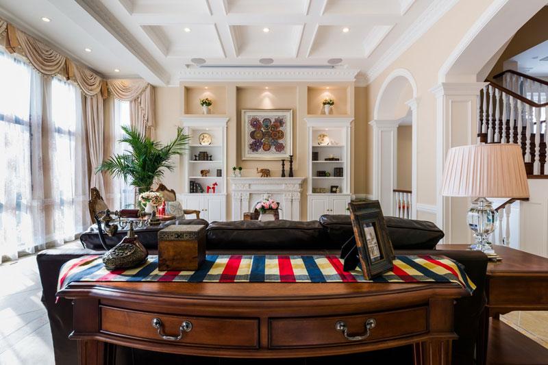 美式风格别墅简洁效果图