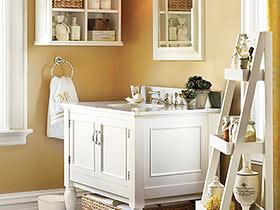 6款卫浴柜推荐 演绎优雅田园风格