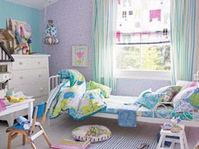 温馨舒适氛围 18款田园儿童床效果图
