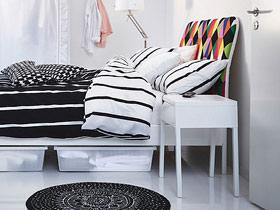 給臥室提供便利 16款宜家床頭柜效果圖