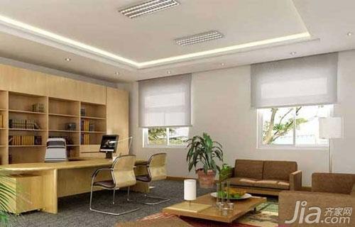 办公室设计效果图 多样氛围营造企业形象