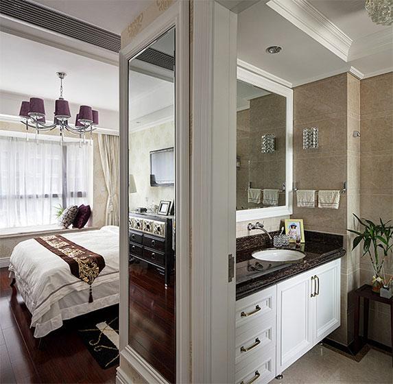 美式风格四房温馨厨房设计图纸