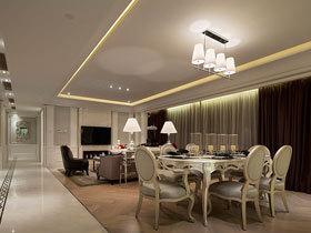优雅法式新古典 大户型公寓给你不一样的感觉