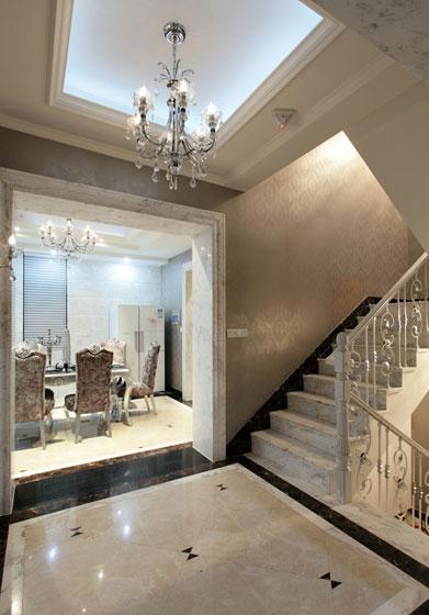 新古典风格别墅奢华楼梯设计图