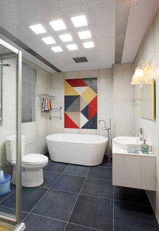 新古典风格别墅奢华卫生间设计图
