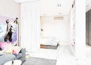 实用卧室隔断隔断装修效果图