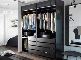 方便易拿取衣物 16款宜家衣柜图片