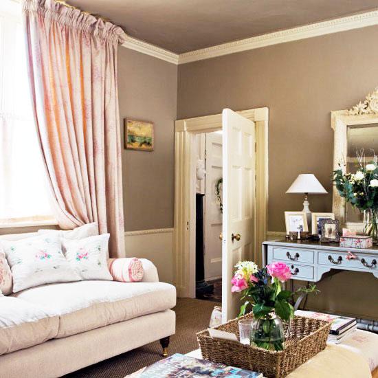 宜家风格小清新卧室背景墙设计图片