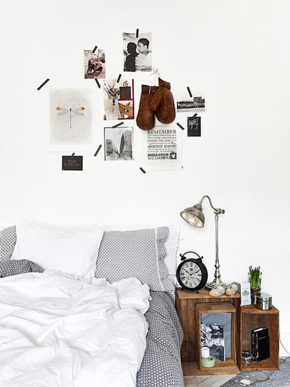 简约风格简洁卧室背景墙设计