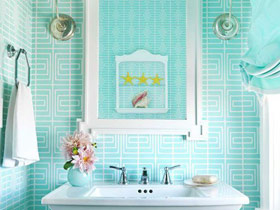 14款卫浴挂件图 打造清新卫生间