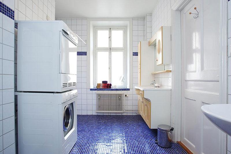 北欧风格复式小清新10-15万60平米卫生间装修效果图