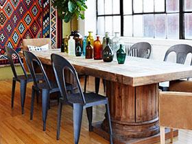 20款原木色地板圖 布置溫馨餐廳
