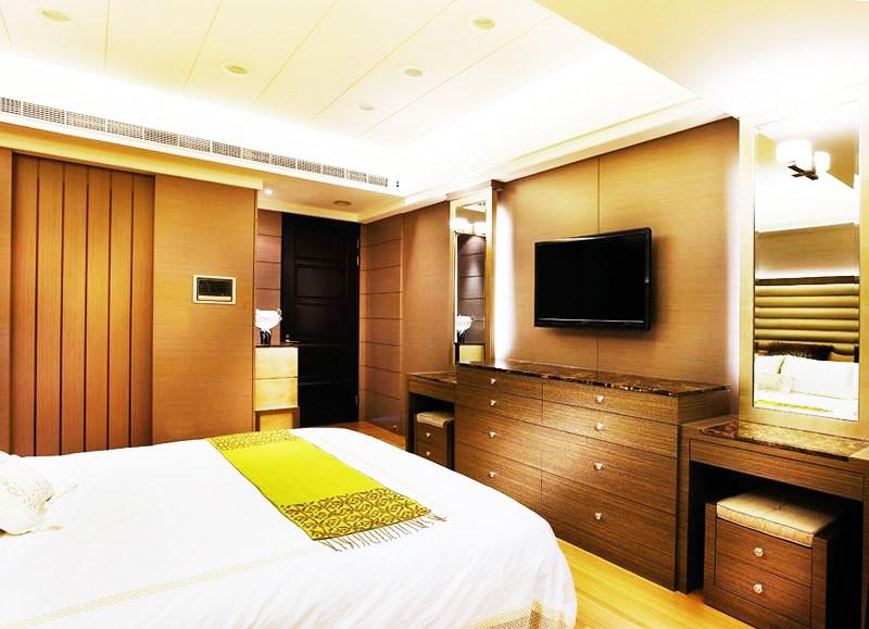 在韩国酒店怎么看电视