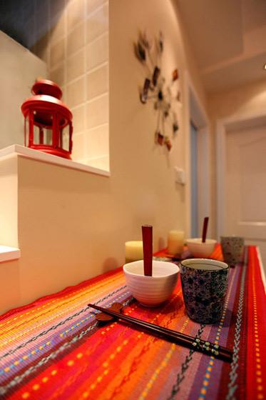 简约风格浪漫60平米婚房家装图片