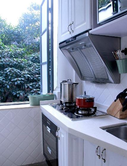 欧式风格一居室40平米厨房80后平面图