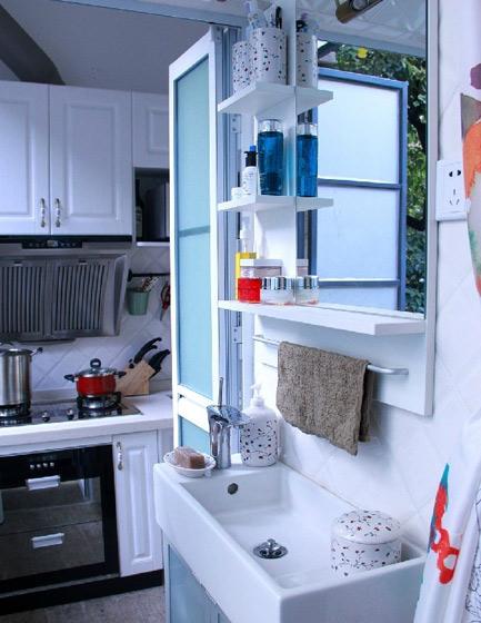 欧式风格一居室40平米80后平面图