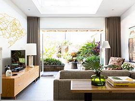 窗簾效果圖 18圖裝扮溫馨客廳