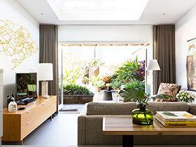 窗帘效果图 18图装扮温馨客厅
